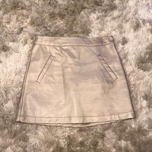 Forever 21 Children's Metallic Bronze Skirt